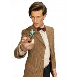 11th Doctor Brown Leather Coat