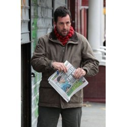Adam Sandler Movie Cobbler Leather Jacket