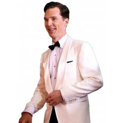 Benedict Cumberbatch White Dinner Suit