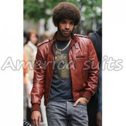 Drake Rapper Leather Jacket  American Apparel