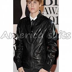 Justin Beiber Celebrity Leather Jacket