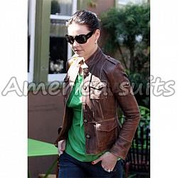 Katherine Heigle Hot Celebrity Leather Jacket  At Sale