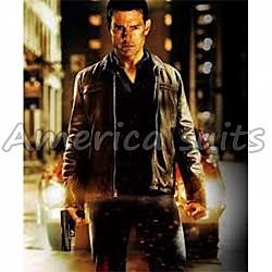 Tom Cruise Jack Reacher Movie Leather Jacket