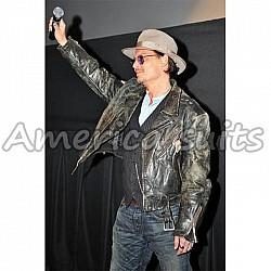 Johnny Depp Celebrity Leather Jacket