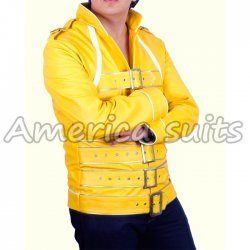 Freddie Mercury Yellow Concert Leather Jacket