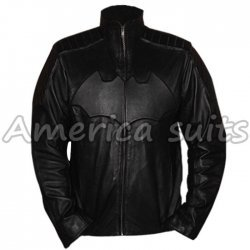 Chirstian Bale Batman leather Jacket