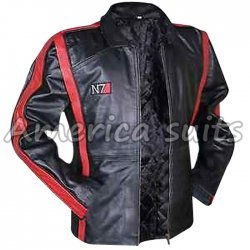 Mass Effect 3 Commander Shepard gaming N7 Jacket