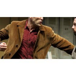 Jason Statham Wild Card Movie Leather jacket