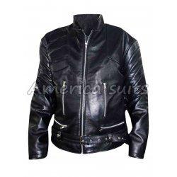 Arnold Schwarzenegger Terminator Genisys Movie Leather jacket