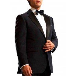 Tom Cruise Navy Blue Tuxedo Suit
