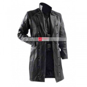 Adam Jenson Black Trench Coat