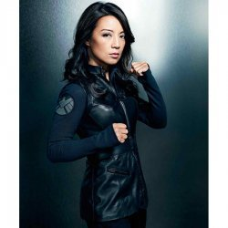 Agents Of Shields Melinda May Sleeveless Black Leather Vest