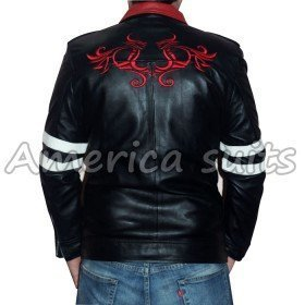 Alex Mercer Prototype Gaming Black Leather Jacket