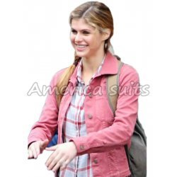 Percy Jackson Sea of Monsters Alexandra Daddario Jacket - America Suits