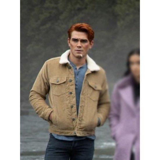 archie andrews riverdale s04 brown jacket archie andrews riverdale s04 brown jacket