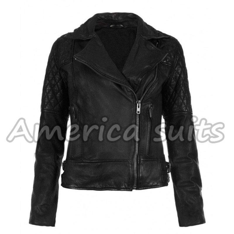 ashley-greene-black-leather-jacket