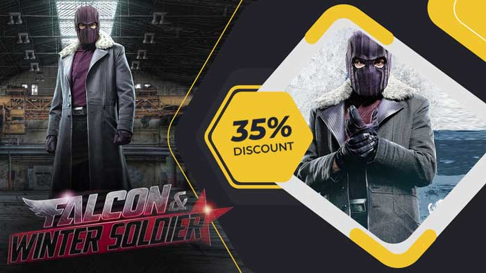 Zemo And Falcon Winter Soldier Trench Coat