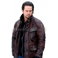 Bobby Mercer Four Brothers Brown Leather Jacket