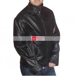 Bourne Legacy Movie Leather Jacket For Men