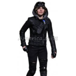 Camren Bicondova Selina Kyle Gotham Leather Jacket