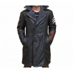 Captain Boomerang Suicide Squad Leather Trench Coat