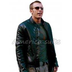 Chris Evan fantastic Four Leather Jacket
