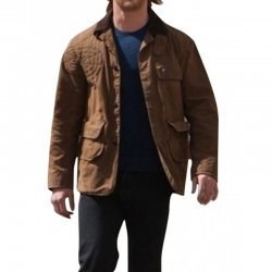 Chris Hemsworth Thor Brown Leather jacket