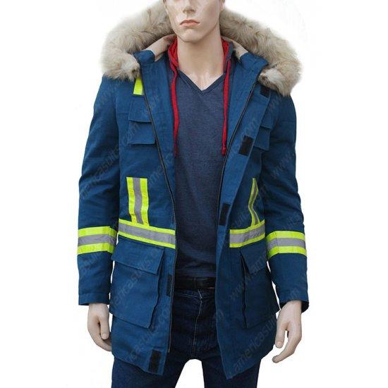 Cold Pursuit Liam Neeson Shearling Jacket Americasuits Com
