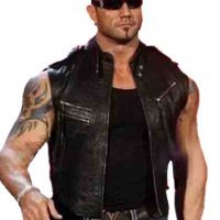 Weste Kapuze Wrestling Wwe Batista Edge Neu 12ANS 152 CM