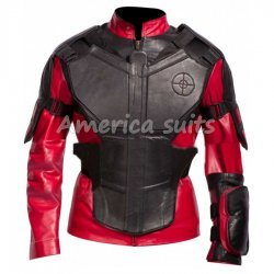 Deadshot Suicide Squad Leather Jacket