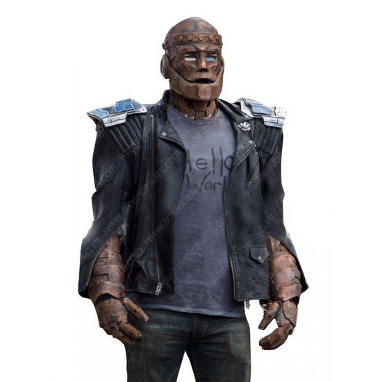 Doom Patrol Robotman Leather Jacket Americasuits Com