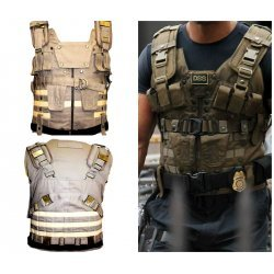 Fast and Furious 7 Dwayne Johnson Cotton DSS Vest