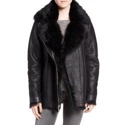 Genuine Toscana Shearling Bomber Jacket