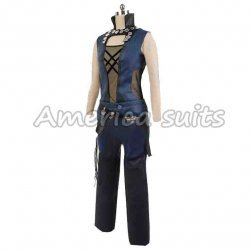Guardians Of The Galaxy women Gamora Leather Costume