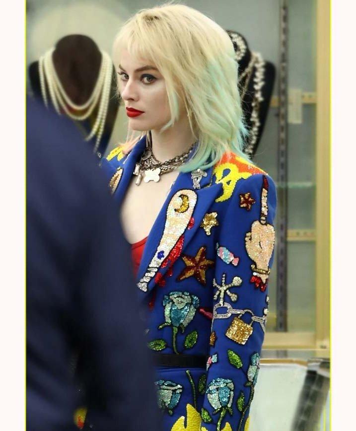 Harley Quinn Birds Of Prey Blazer 40 Off Americasuits Com