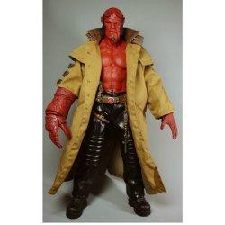 Hell Boy Long Brown Coat