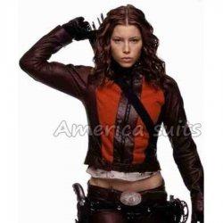 Jessica Beil Blade Trinity Leather Jacket