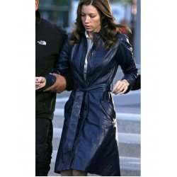Jessica Biel The A Team Leather Jacket