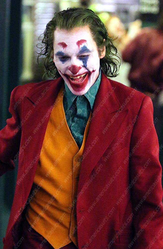 Joker 2019 Red Coat Joaquin Phoenix Red Coat Americasuits Com