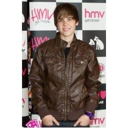 Justin Beiber Hot Celebrity Leather Jacket