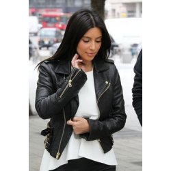 Kim Kardashian Short Black Jacket For Women