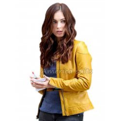Megan Fox Teenage Mutant Ninja Turtles Leather Jacket