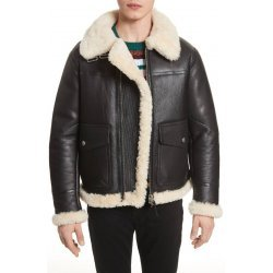 Warm Winter Genuine Shearling Men Jacket