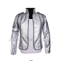 Michael Jackson Heal The World Concert Silver Jacket
