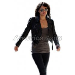 Michelle Rodriguez Fast And Furious Biker jacket