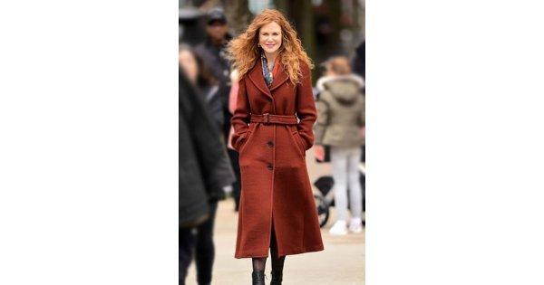 Nicole Kidman The Undoing Wool Coat | 30% OFF ...
