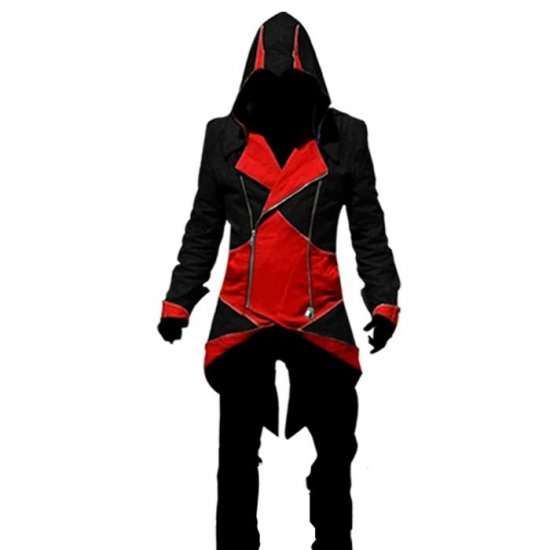 Ninja Assassin Creed Costume In Black And Red