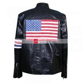 Peter Fonda Captain America Biker Leather Jacket