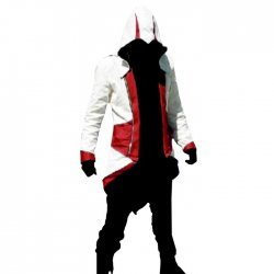 Red And White Ninja Assassin Creed Costume
