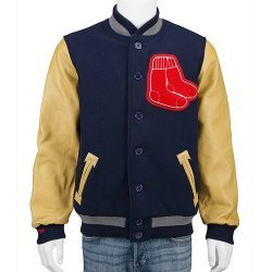Boston Red Sox Authentic 1941 Wool Leather Jacket